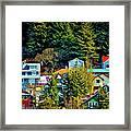 A Juneau Hillside  Framed Print