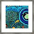 A Little Garden At The Edge Of The World Framed Print