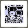 A Marked Dewelling Framed Print