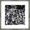 A Moment In History 1999 Framed Print