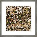 A Poor Neighborhood In Urban Maputo Framed Print