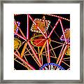 A Ride In The Carousel Framed Print