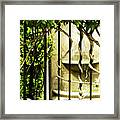A Small Fountain Framed Print