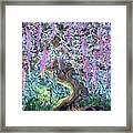 A Tree Of Many Colors Framed Print