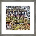 Abandoned House-don Robinson State Park-enhanced Framed Print