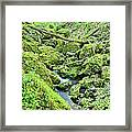 Above Moine Creek 2 Framed Print