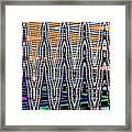 Abstract # 2682 Framed Print