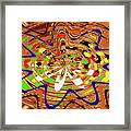 Abstract #1859drawpc Framed Print
