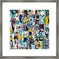 Abstract 2018-02 Framed Print