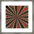 Abstract #2257-5 Framed Print