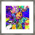 Abstract 370 Framed Print