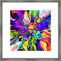 Abstract 373 Framed Print