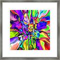 Abstract 376 Framed Print
