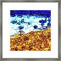 Abstract 3821 Framed Print