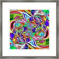 Abstract 389 Framed Print