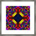 Abstract 650 Framed Print