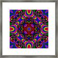 Abstract 667 Framed Print