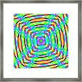 Abstract 709 Framed Print