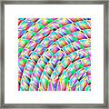 Abstract 713 Framed Print