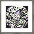 Abstract 813 Framed Print
