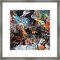 Abstract Blast Framed Print