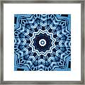 Abstract Blue 16 Framed Print