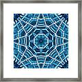 Abstract Blue 19 Framed Print