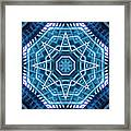 Abstract Blue 20 Framed Print