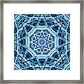 Abstract Blue 22 Framed Print