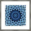 Abstract Blue 30 Framed Print