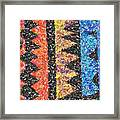 Abstract Combination Of Colors No 6 Framed Print