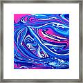 Abstract Experiment Framed Print