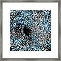 Abstract Floral Swirl No.2 Framed Print