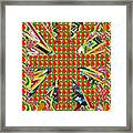 Abstract Flowers Floral Leaf Leaves Colorful Modern Art Navinjoshi Fineartamerica Pixels Framed Print