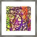 Abstract Fun 11 Framed Print