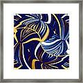 Abstract Fusion 279 Framed Print