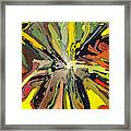 Abstract Garden Defined Framed Print