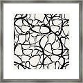 Abstract Interlacing Framed Print