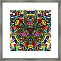 Abstract Of Abundant Colors Framed Print