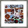 Abstract Painting - Heather Framed Print