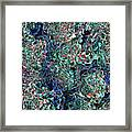 Abstract Pattern Of Colors Framed Print