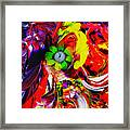 Abstract Perfection - Good Luck-holding It Firmly Framed Print