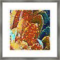 Abstract Petals Framed Print