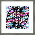 Abstract Pink Framed Print