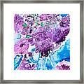 Abstract-purple Summer Framed Print