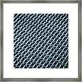 Abstract Rubber And Iron Mat Framed Print