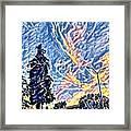 Abstract Sky Framed Print