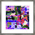Abstract Sports Montage Framed Print