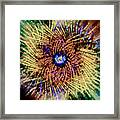 Abstract Swirl 01 Framed Print