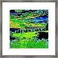 Abstract Vista Framed Print